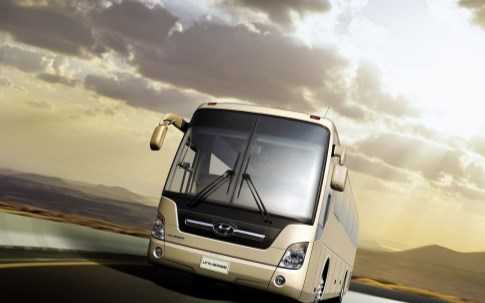 Choosing to travel by bus to Melaka