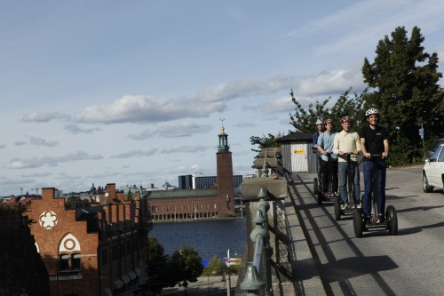 Segway Stockholm ¬– Providing A New Experience